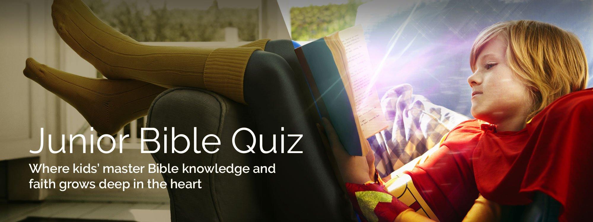 junior bible quiz questions